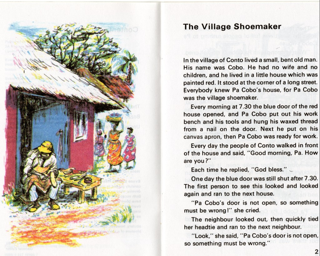 The village shoemaker