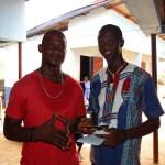 Shabab, manager dei Jeneba's Mates, e Michael, il suo assistente